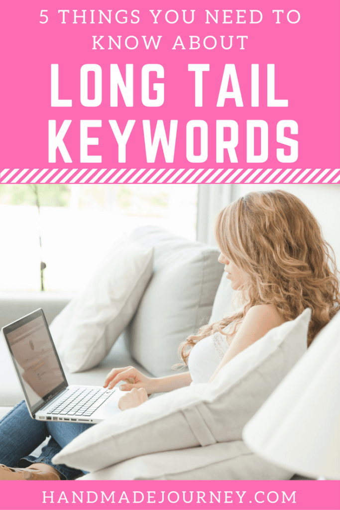Long tail keywords are 3 or more word keyword phrases that help you appear in search results because they are specific and therefore have less competition.