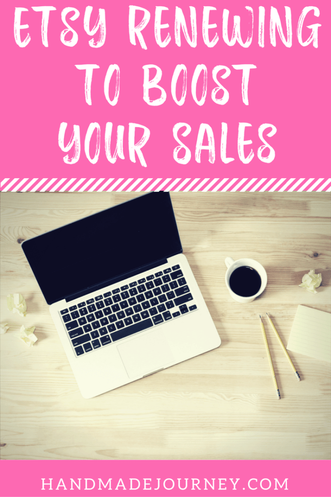 Etsy renewing can be the key to boosting your sales. Click to learn more about why you should start renewing today!