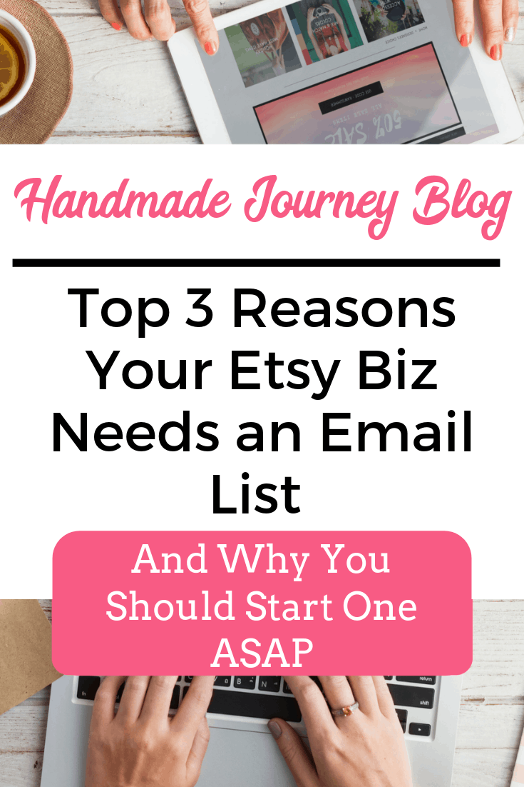 Creating an Email List for Etsy Biz